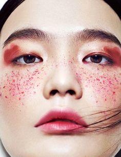 Model: Li Wei Magazine: Marie Claire China, July 2015 Photographer: Ma Gang Makeup: Wang Qian