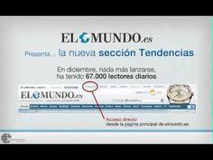 "▶ Teaser flash ""El Mundo.es"" website 01-2011 - YouTube motion graphics"