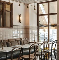 Hotel Sanders, a Boutique Hotel in Copenhagen - Retail Design Mag Boutique Interior Design, Restaurant Interior Design, Commercial Interior Design, Design Hotel, Commercial Interiors, Interior Modern, American Interior, Open Hotel, Copenhagen Hotel