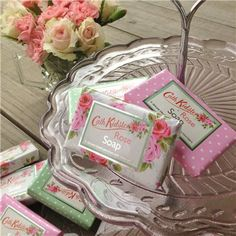 Cath Kidston Guest Soap Savon Soap, Soaps, Cath Kidston Rose, Soap Shop, Rose Soap, Tin Cans, Packaging Ideas, Spare Room, Bed And Breakfast