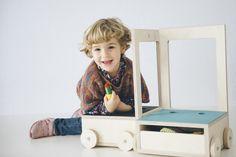 Glücksstuhl · lucky chair  by NIMIO  photo by @José Luis de Lara    #chair #children