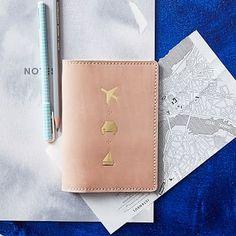 Leather Passport Holder #westelm