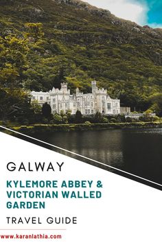 Kylemore Abbey & Victorian Walled Garden is set in a dramatic landscape and is an ideal destination for a one day trip. Head on to my blog for a complete travel guide. #europe #ireland #galway #galwaygirl #connemara #touristattractions #garden #kylemoreabbey #travelguide Kylemore Abbey Ireland   Ireland Landscapes   Places To Visit   Things To Do   Ireland Landscapes   Ireland Aesthetic Connemara Ireland, Ireland Travel Guide, One Day Trip, Ireland Landscape, Travel Photos, Travel Tips, Scotland Travel, Bucket Lists, Travel Destinations