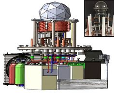 Isso resulta em uma liberação de energia que é intermediária entre as energias química e nuclear, e um produto não-poluente.