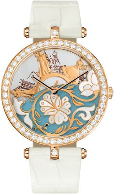 van cleef  Bal de Légende Poetic Complication  Don't wear watches, but with this one, I would make an exception!