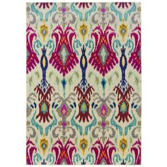 Vibrant Bohemian Ivory/ Red Rug (5'3 x 7'6) - Overstock™ Shopping - Great Deals on Style Haven 5x8 - 6x9 Rugs