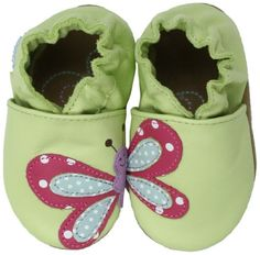 Robeez Butterfly Soft Sole Slip-On (Infant),Green,18-24 Months M US Infant Robeez,http://www.amazon.com/dp/B009X4WR0U/ref=cm_sw_r_pi_dp_CSeqsb0ZNADNPD7Y