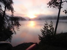 Quetico Provincial Park Sunrise Canoe Trip, Lake Superior, Canoeing, Sunrises, Natural Wonders, Ciel, Paddle, Wilderness, Ontario