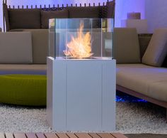 Bioethanol open vent free fireplace TWIN | Outdoor fireplace - ITALY DREAM DESIGN