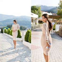 Get this look: http://lb.nu/look/6527890  More looks by Larisa Costea: http://lb.nu/themysteriousgirl  Items in this look:  Miss Grey Dress, Borealy Earrings, Asos Clutch