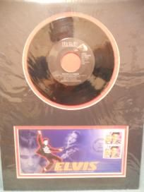 """ELVIS PRESLEY 1ST DAY ISSUE 45 RPM RECORD AND CACHET """"MINT"""" + FREE SHIPPING"""
