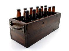 Twelve Bottle Beer Box Cooler by EALongAndCompany on Etsy, $70.00
