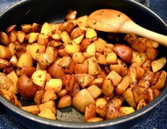 The perfect spiced roast potatoes