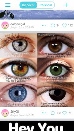 Eyes tell all Pretty Eyes, Cool Eyes, Beautiful Eyes, Eye Color Chart Genetics, Rare Eyes, Eye Facts, Artsy Photos, Eye Photography, Drawing Tips