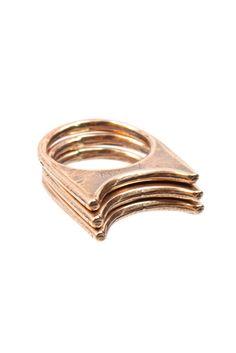 Aures Rings | Moorea Seal