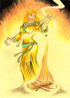 Belisama goddess of light by danbrenus. In Celtic polytheism, Belisama was a goddess worshipped in Gaul and Britain. She was connected with lakes and rivers, fire, crafts and light. Belisama was identified with Minerva/Athena and has been compared with the Irish goddess Brigid.