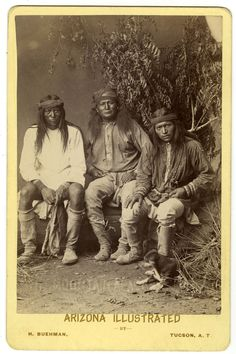 White Mountain Apaches, no date
