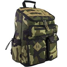 Fuel Top Loader Cargo Backpack Army Camo *** You can get additional details at the image link.