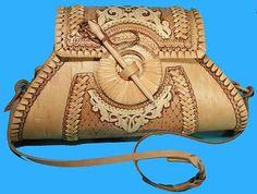 Image result for russian birch bark handbag