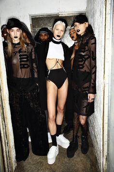 Fenty Rihanna X Puma AW1617 Fashion Show New York Backstage