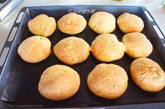 Ψωμάκια για Μπέργκερ Burger Buns, Hamburger, Food Processor Recipes, Breads, Flat, Bread Rolls, Bass, Bread, Burgers