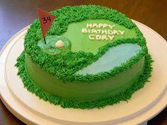 Brandy's Creations: Golf Cake