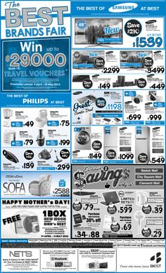 Straits Times Advert - 25 April 2014 Click here to view or zoom:  http://go.bestdenki.com.sg/best-adverts/press-advert-25-april-2014