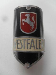 Westfalen Steuerkopfschild Emblem Fahrrad *original und ungebraucht* | eBay