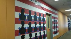 The February board for Presidents Day