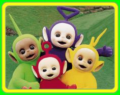 Telly Tubbies -- great memories with my kids, niece and nephew <3