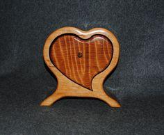 Heartshaped bandsaw box Wood Boxes Pinterest Bandsaw box