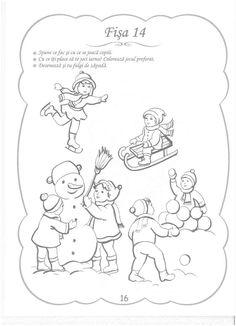 Cunoasterea Mediului - 3-5 Ani Winter Activities For Kids, Toddler Activities, Crafts For Kids, Teacher Supplies, Educational Activities, Kindergarten, Merry Christmas, Preschool, Autism