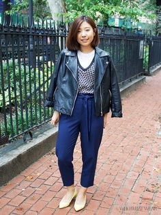 What Our New York Fashion Intern Wears to the Who What Wear Office via @WhoWhatWear