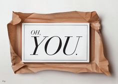 Oh you. #packaging #gift #wrapping
