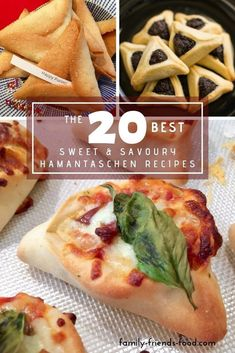 Whether You Like Your Hamantaschen Sweet Or Savory, Traditional Or Avant-Garde, You'll Find A Recipe Here To Suit Includes Vegan Options. Stir Up A Treat This Purim Breakfast Plate, Breakfast Casserole, Breakfast Recipes, Kosher Recipes, Cooking Recipes, Kosher Food, Comida Israeli, Purim Recipe, Jewish Recipes