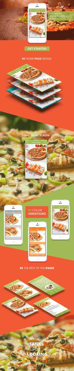 Ознакомьтесь с моим проектом в @Behance: «Mobile design pizza panda menu»…