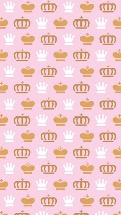 かわいいクラウンがいっぱいiPhone壁紙 iPhone 5/5S 6/6S PLUS SE Wallpaper Background