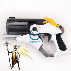 Overwatch OW Mercy Angela Ziegler Gun Cosplay Weapon Prop  #overwatch #mercy #cosplayweapon #prop