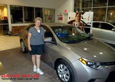 Welcome to the #DavidMaus family, Madelaine! Enjoy the new set of wheels!