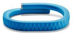 Jawbone's App-Powered Wristband Encourages Health, Wellness   Gadget Lab   Wired.com- tracks, mocement, sleep, diet, excersize, etc. $129.99