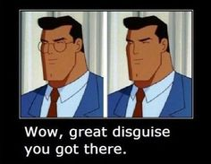 funny cartoon logic - superman