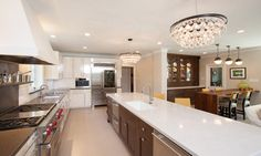 The New Transitional Kitchen - traditional - kitchen - houston - Kitchen & Bath Concepts