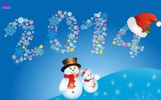 Happy New Year 2014 Wallpaper for Kids