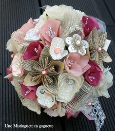 Pour sûr la rentrée est déjà loin, mais il fallait quand même que je vous montre ce bouquet de mariée School ! ( à suivre)