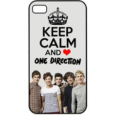 Keep calm and love one direction phone case