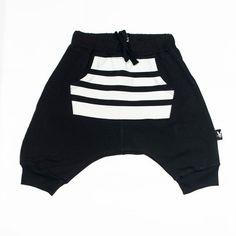 Baby shorts - Harem shorts - Harem pants - Baby harem pants - Short for baby - Black bby pants - Black baby shorts - Hipster baby -Tuli Bert