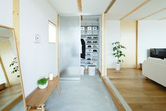 無印良品の家「木の家」は一室空間による住まい手のほどよい距離感を演出します。家族構成や暮らし方に合わせて「永く使える、変えられる」家です。