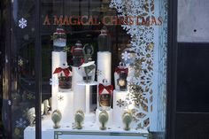 on is adding an extra dash of luxury this with a selection of festive fragrances and gifts. Magical Christmas, West End, Ladder Decor, Coffee Shop, Christmas Windows, London, Street, Fragrances, Festive