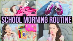 Morning Routine for School 2017 + Life Hacks to Be a Morning Person!