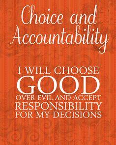 Choice and Accountability